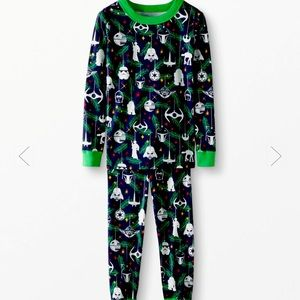 Star Wars long John pajamas